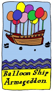 Balloon Ship Armageddon copyright 2015 by Michael D. Smith