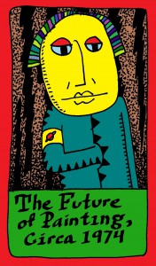 The Future of Painting Circa 1974 Tarot Card copyright 2015 by Michael D. Smith
