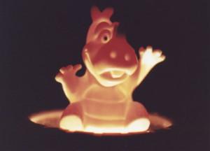 Orange Rhinoceros copyright 1994 by Michael D. Smith