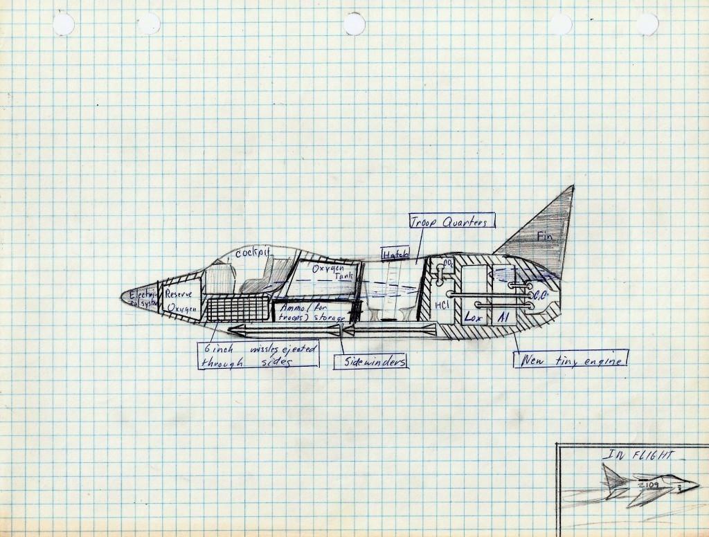 One-Man Rocketplane 1967 copyright 2014 Michael D. Smith