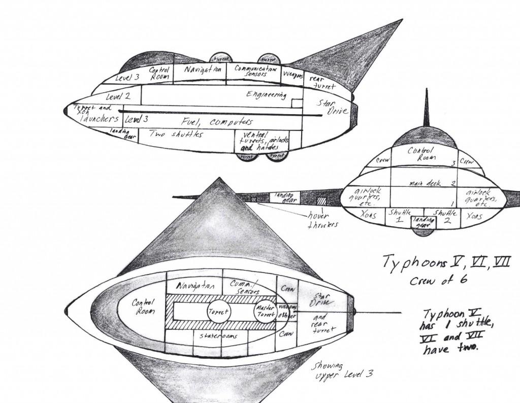 Typhoons V-VI-VII copyright 2014 Michael D. Smith