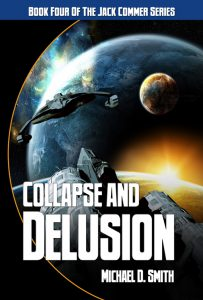Published Collapse and Delusion cover by Deron Douglas