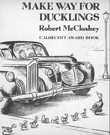 Make Way for Ducklings by Robert McCloskey - Original Book Cover