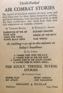 Thrill-Packed AIR COMBAT STORIES