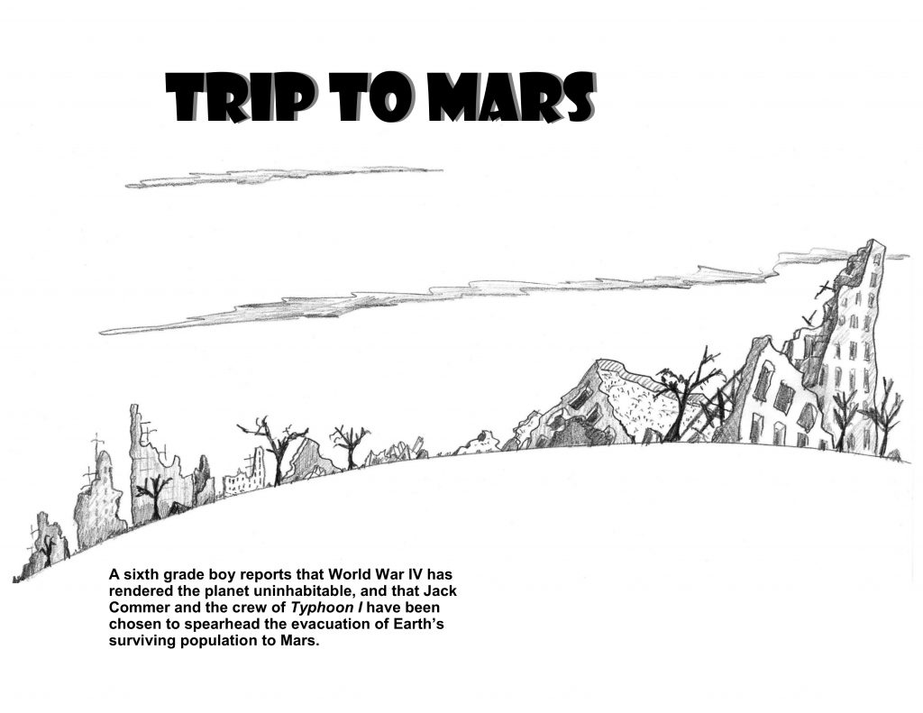 Trip to Mars available at lulu.com