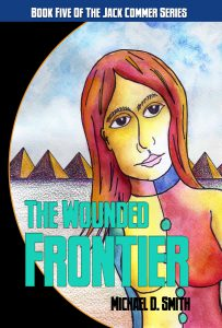 Published Wounded Frontier cover by Michael D. Smith and Deron Douglas