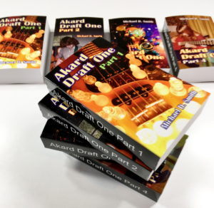 Akard Draft One covers copyright 2020 by Michael D. Smith